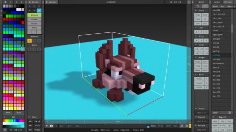 MagicaVoxel 3D Art Tutorial | raywenderlich com