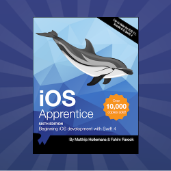 iOS Apprentice Updated for Swift 4 & iOS 11