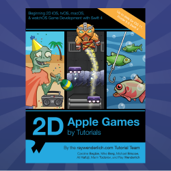 2D Apple Games by Tutorials Updated for Swift 4 and iOS 11
