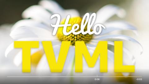 tvOS Tutorial: Using TVML Templates | raywenderlich com