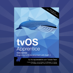 tvOS Apprentice Updated for Swift 4 and tvOS 11