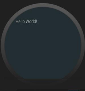Fixed hello world round