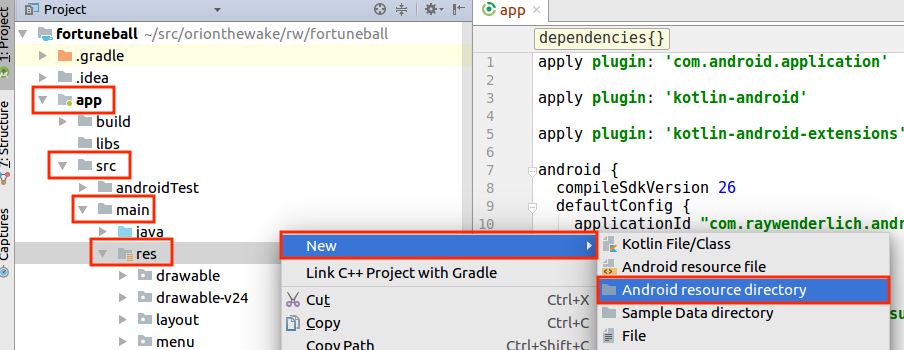 Beginning Android Development with Kotlin, Part Two: Using