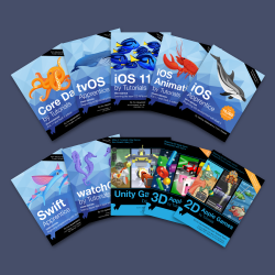 raywenderlich.com iOS 11 and Swift 4 Print Books Available Now!