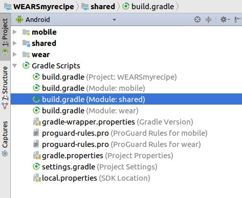 shared build.gradle