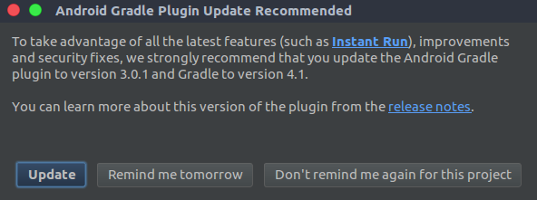 Update gradle plugin
