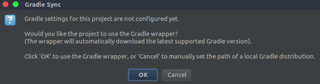Setup Gradle wrapper