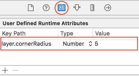 you can use user defined attributes within Interface Builder