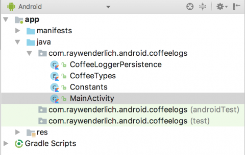 Android App Widgets Tutorial | raywenderlich com