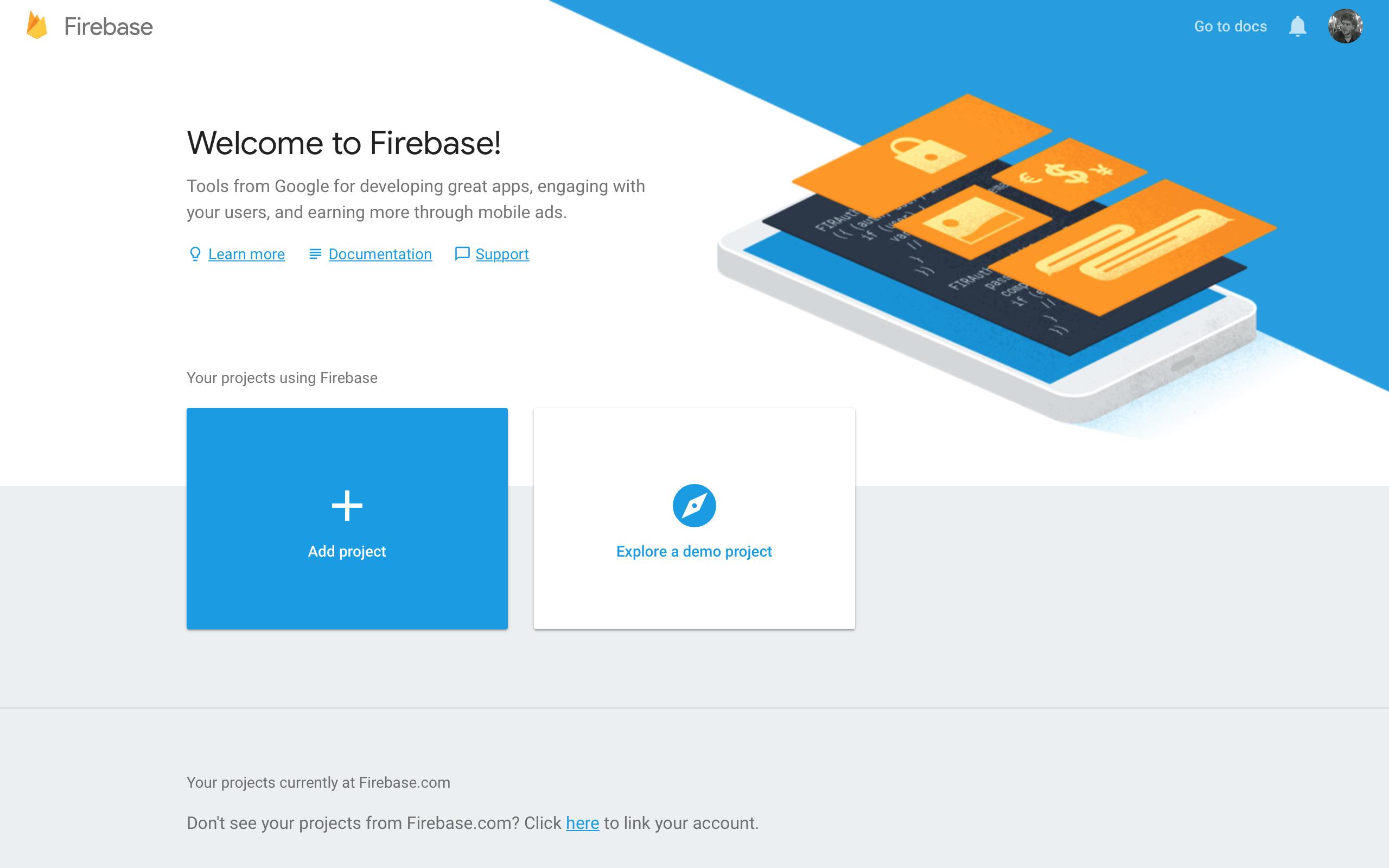 Firebase Tutorial Firebase Console