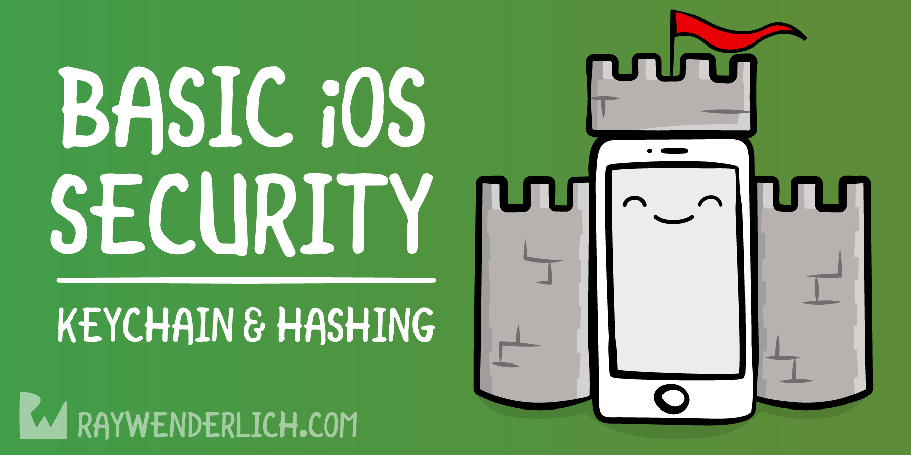 Basic iOS Security: Keychain and Hashing | raywenderlich com