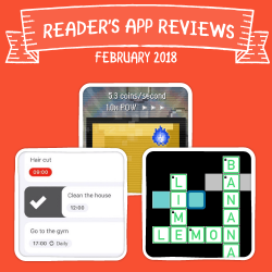 Readers' App Reviews – February 2018