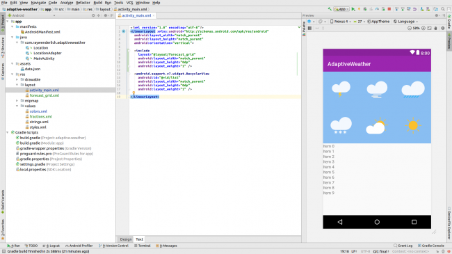 Android Studio Preview Layout