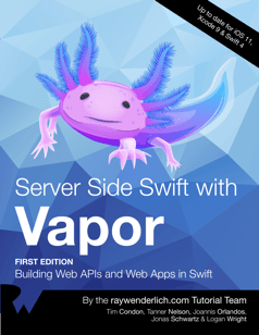 Server Side Swift with Vapor Book