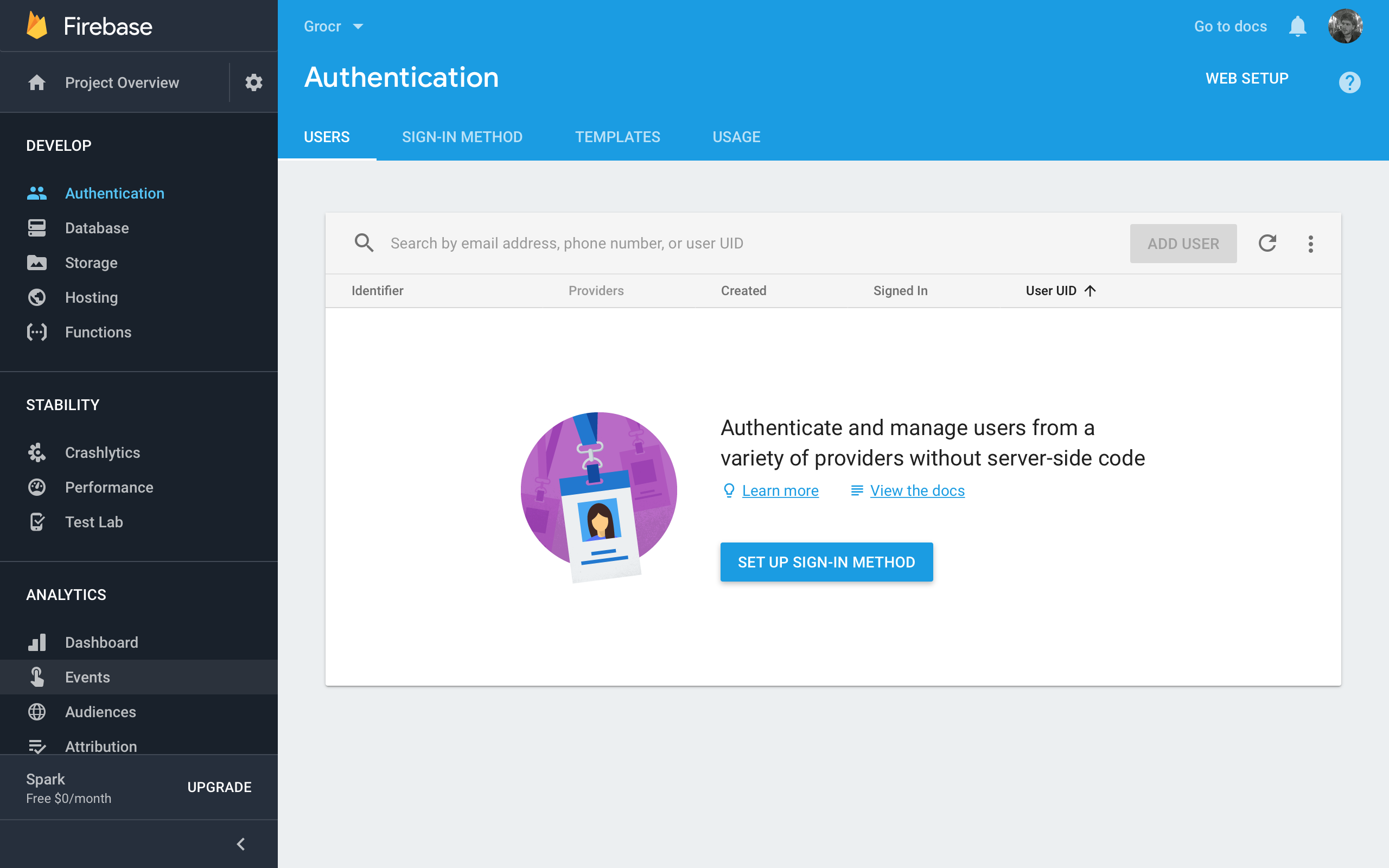 Firebase Tutorial Authentication