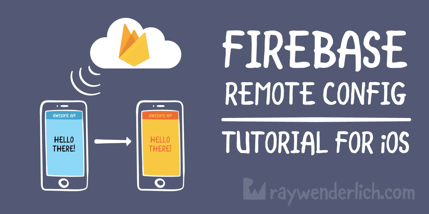 Firebase Remote Config Tutorial for iOS | raywenderlich com