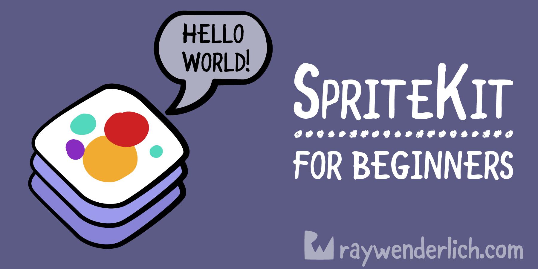 SpriteKit Tutorial for Beginners | raywenderlich com