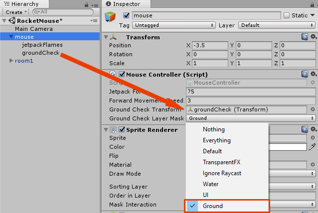 Unity Mouse Position Relative To Object