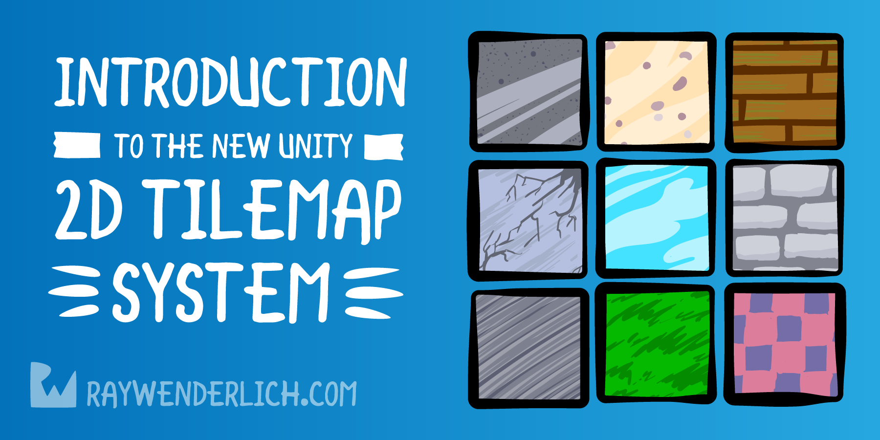 Introduction to the New Unity 2D Tilemap System | raywenderlich com