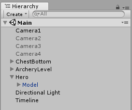 - Camera hierarchy - Introduction to Unity Timeline