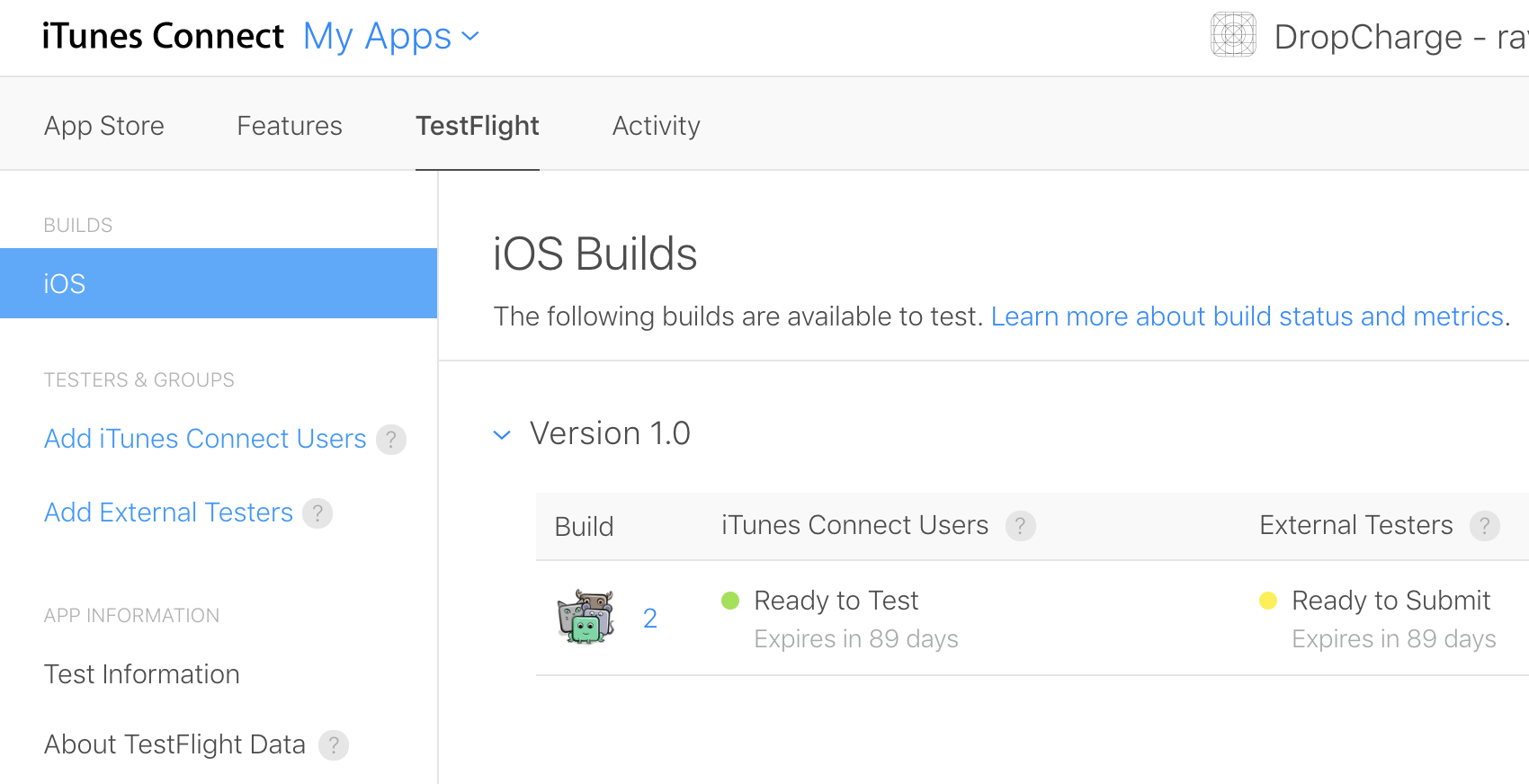 testflight tutorial ios beta testing raywenderlich com rh raywenderlich com 30GB iPod User Guide iPhone User Guide