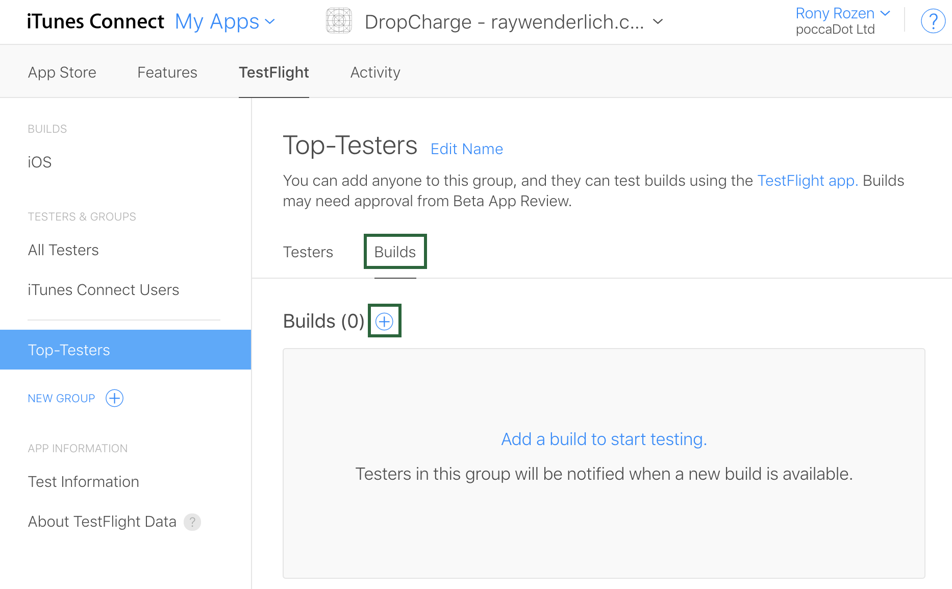 TestFlight Tutorial: iOS Beta Testing | raywenderlich com