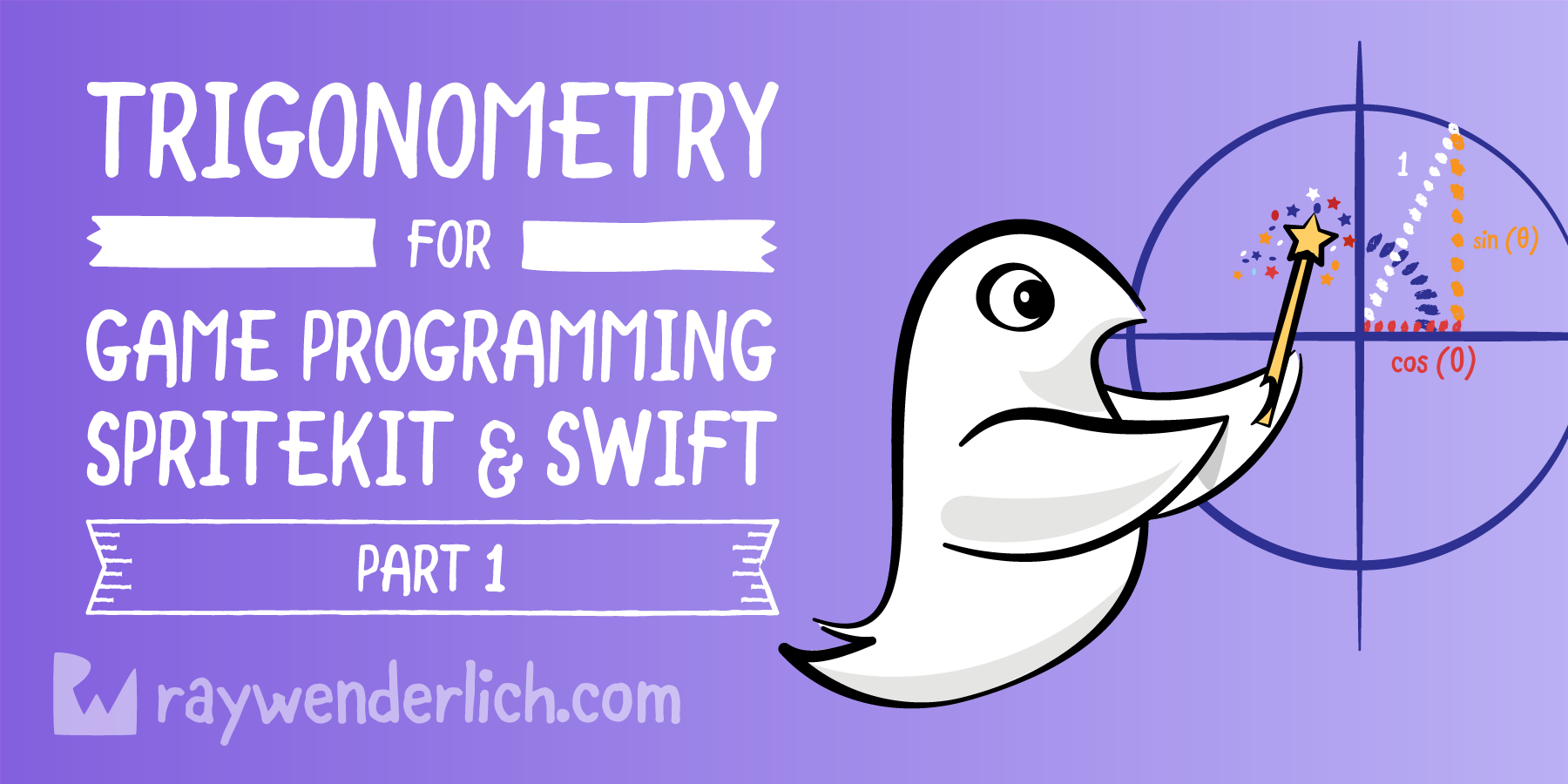 Trigonometry for Game Programming – SpriteKit and Swift Tutorial: Part 1/2