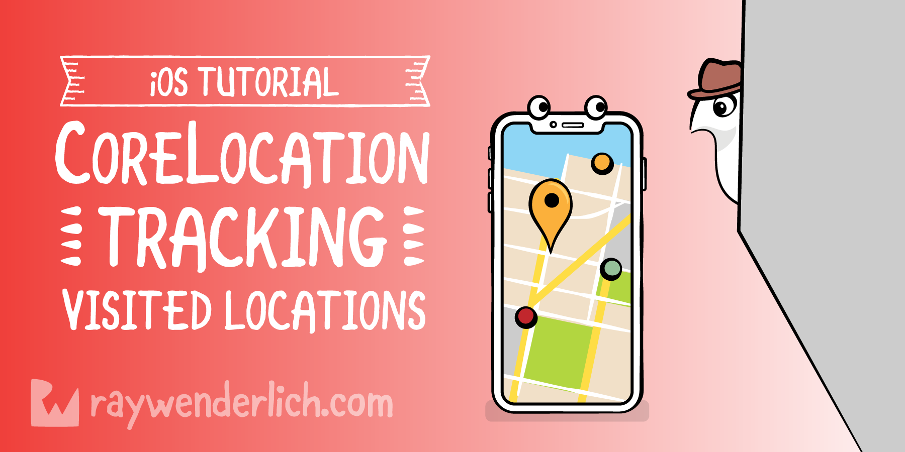 Core Location Tutorial for iOS: Tracking Visited Locations