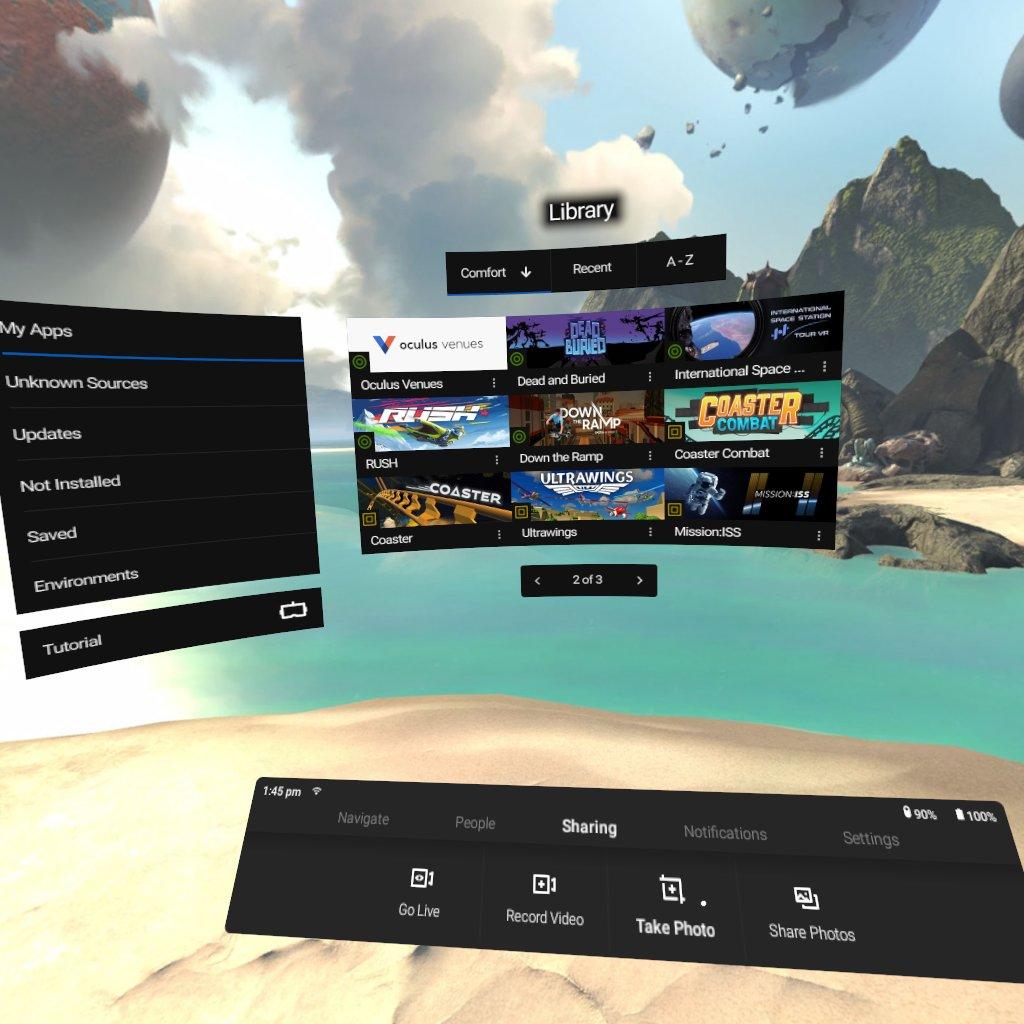 Oculus Go Overview | raywenderlich com