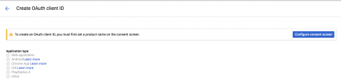 Google Drive API Consent Screen Warning