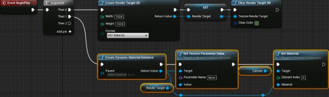 unreal engine render target