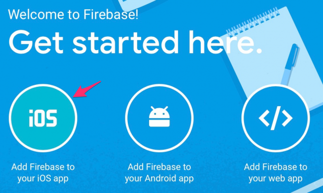 Add Firebase to iOS App