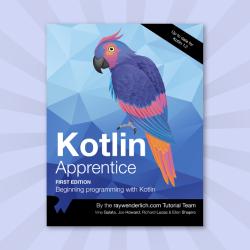 The Full Kotlin Apprentice Book Is Here!