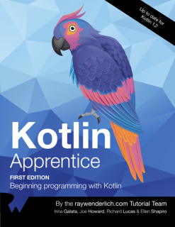 Everything inKotlin Apprentice takes place in a clean, modern development environment, which means you can focus on the core features of programming in the Kotlin language, without getting bogged down in the many details of building apps. You won't want to miss your opportunity to start developing in this cutting-edge language.