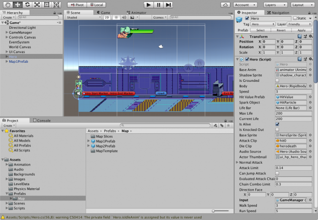 Unity Beat 'Em Up Game Tutorial – Getting Started