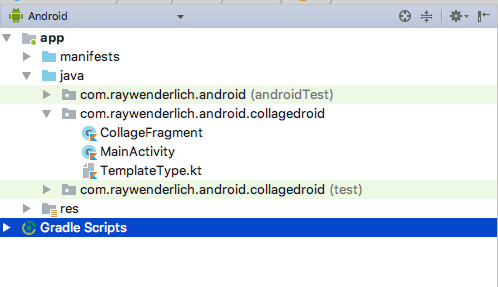 - collage droid structure - Android KTX Tutorial: Getting Started