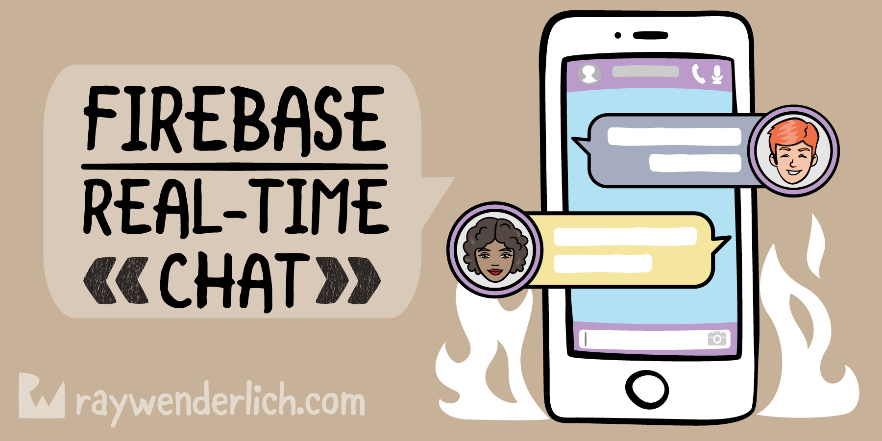 Firebase Tutorial: Real-time Chat | raywenderlich com