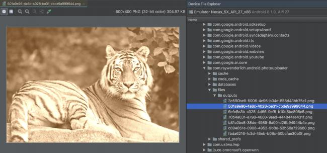 Sepia filter files