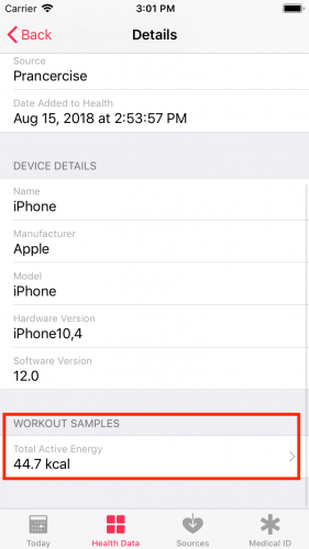 HealthKit tutorial