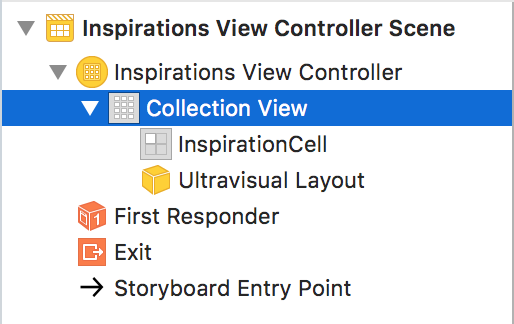 Collection View Selection