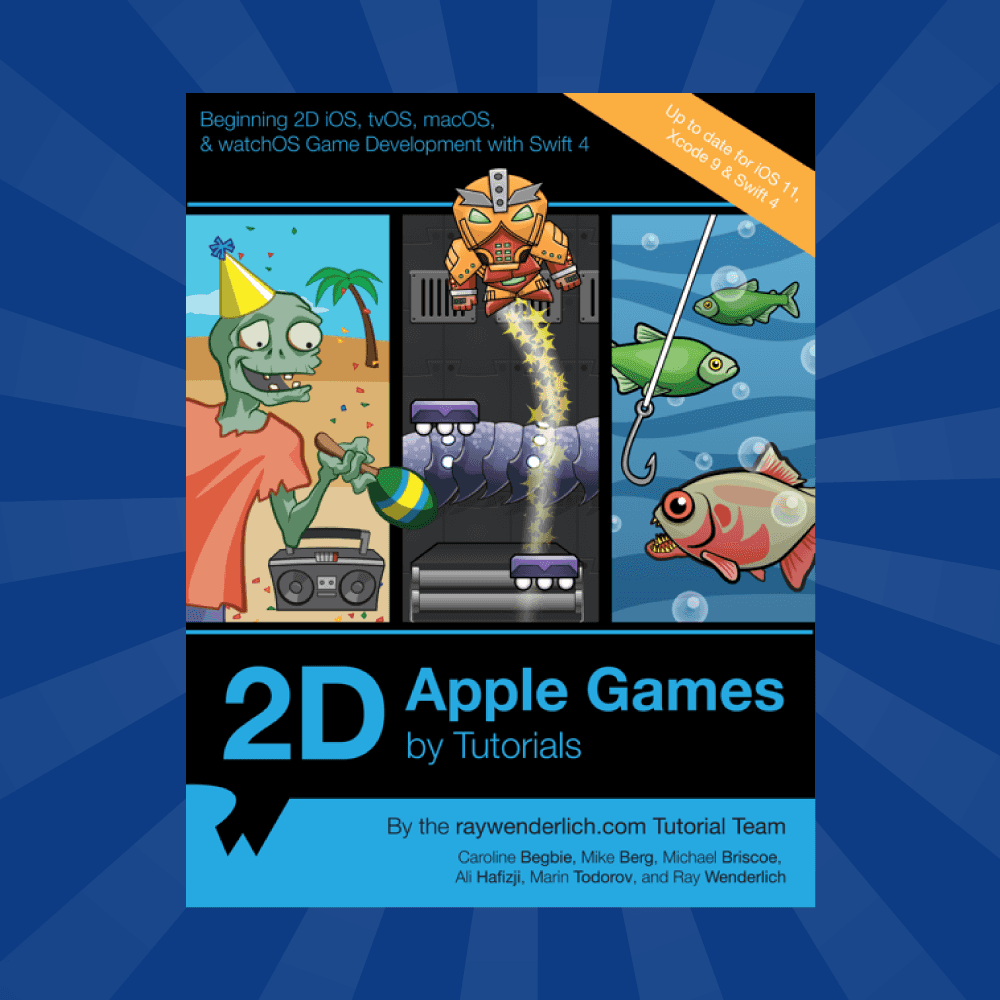 2D Apple Games by Tutorials: A Post-Mortem | raywenderlich com