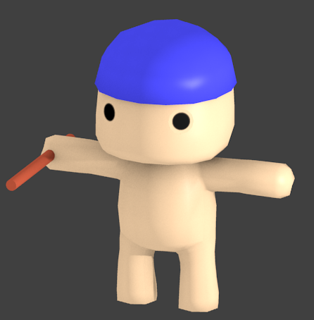 - AccesoriesAddedRender - Creating Reusable Characters With Blender and Unity