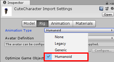 - HumanoidSelect - Creating Reusable Characters With Blender and Unity
