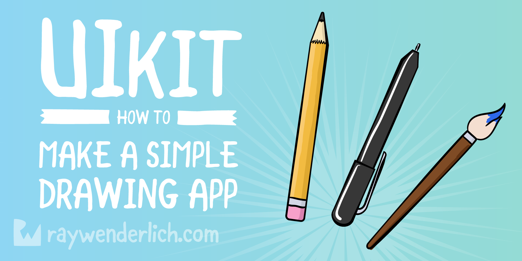 UIKit Drawing Tutorial: How to Make a Simple Drawing App