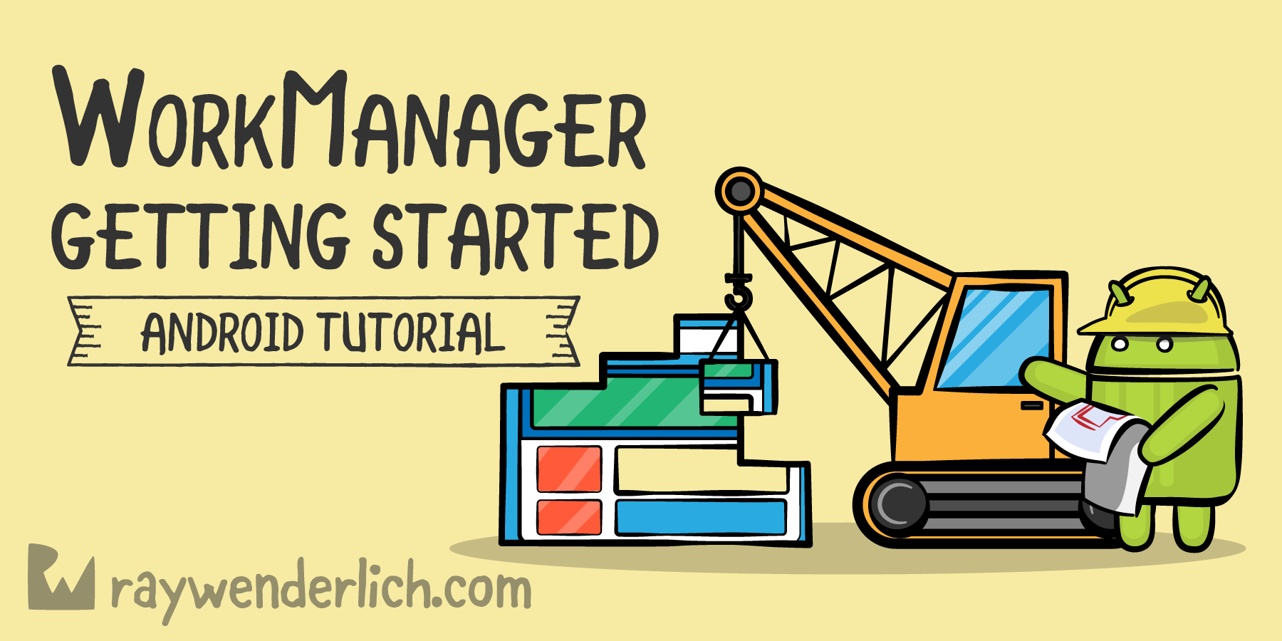 WorkManager Tutorial for Android: Getting Started | raywenderlich com