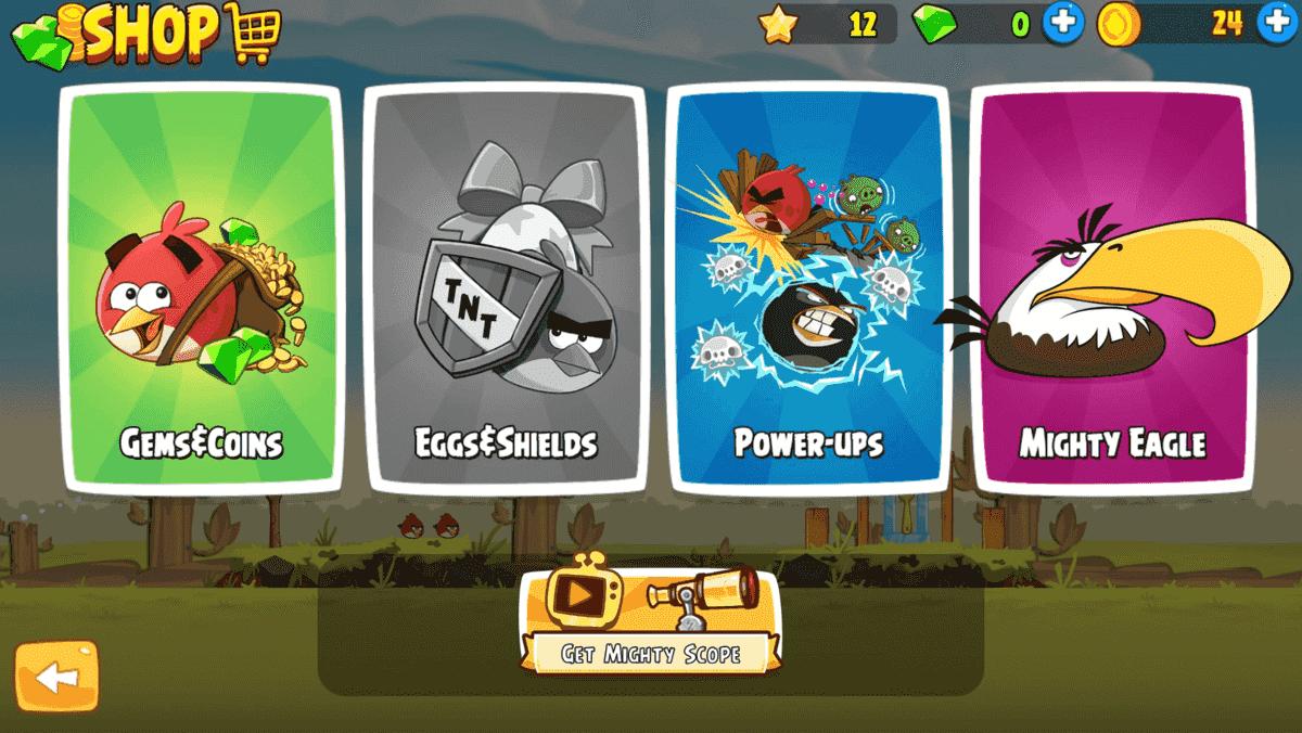 Angry Birds Custom UI
