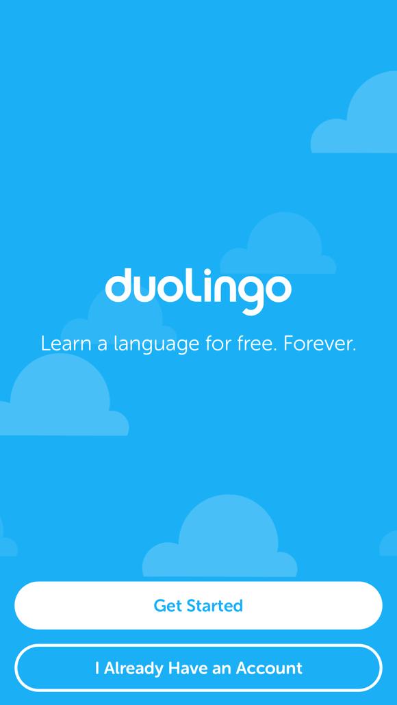 Duolingo Sign In Screen