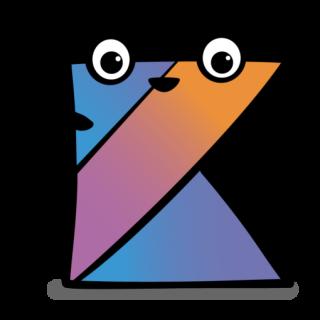Happy Kotlin Logo