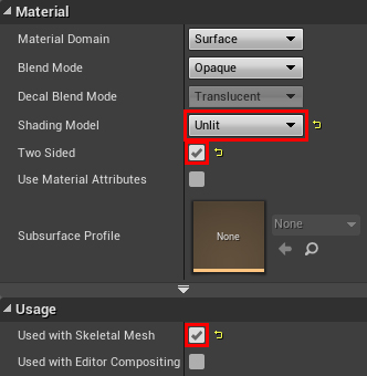 unreal engine mesh paint