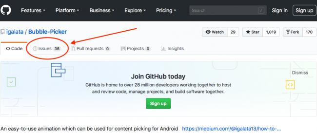 GitHub site